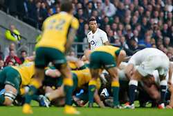 England Winger Anthony Watson looks on - Photo mandatory by-line: Rogan Thomson/JMP - 07966 386802 - 29/11/2014 - SPORT - RUGBY UNION - London, England - Twickenham Stadium - England v Australia - QBE Autumn Internationals.