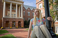 Randolph College Why They Give Portraits.Photography by David Duncan.Com  .www.davidduncan.com, david@davidduncan.com, 434-382-9606 2009 Copyright