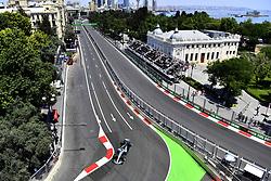June 24, 2017 - Baku, Azerbaijan - Motorsports: FIA Formula One World Championship 2017, Grand Prix of Europe, .#77 Valtteri Bottas (FIN, Mercedes AMG Petronas) (Credit Image: © Hoch Zwei via ZUMA Wire)