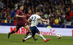 March 22, 2019 - Madrid, Madrid, Spain - Argentina's Lautaro Martinez seen in action during the International Friendly match between Argentina and Venezuela at the wanda metropolitano stadium in Madrid. (Credit Image: © Manu Reino/SOPA Images via ZUMA Wire)