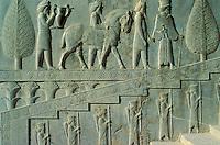 Iran, province du Fars, Persépolis, classé Patrimoine Mondial de l' UNESCO // Iran, Fars province, Persepolis, Unesco world heritage