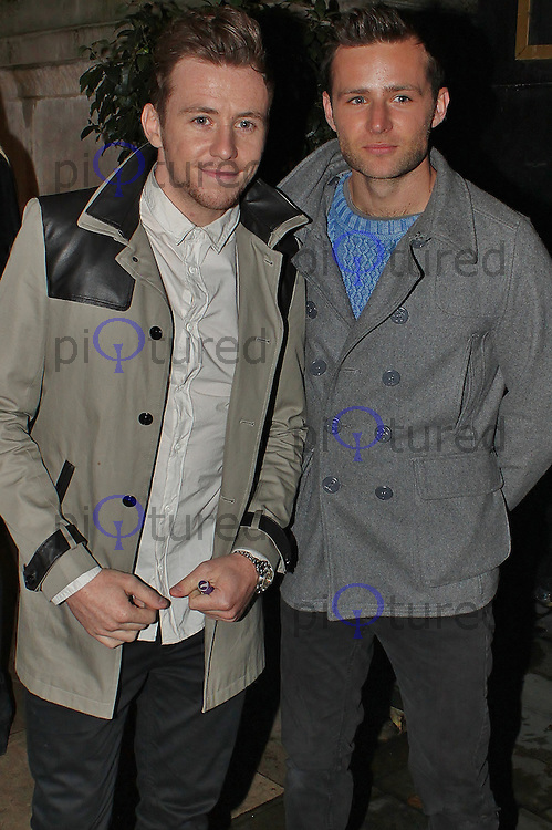 LONDON - October 17: Danny Jones & Harry Judd in London (Photo by Brett D. Cove)