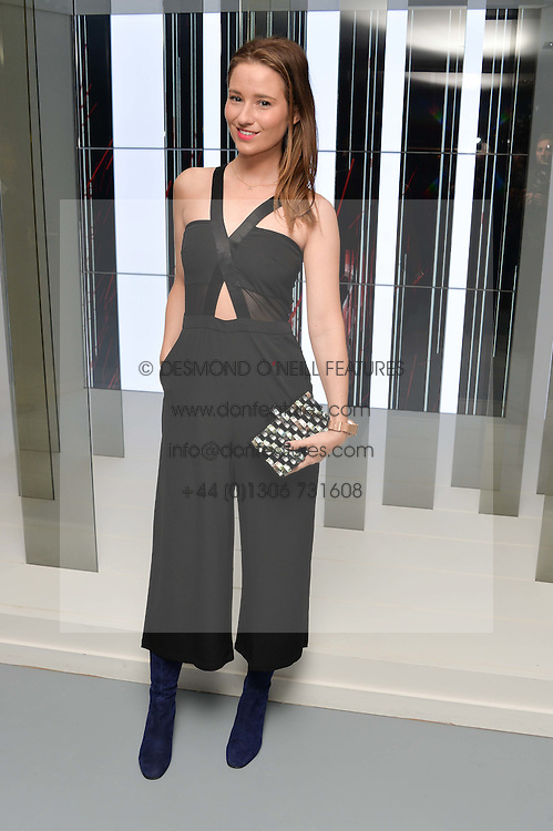 KELLY EASTWOOD at the Louis Vuitton Series 3 VIP Launch held at 180 Strand, London on 20th September 2015.