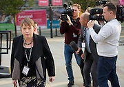 Labour Party Conference <br /> at Manchester Central, Manchester, Great Britain <br /> 23rd September 2014 <br /> <br /> <br /> Maria Eagle arriving <br /> <br /> <br /> Photograph by Elliott Franks <br /> Image licensed to Elliott Franks Photography Services