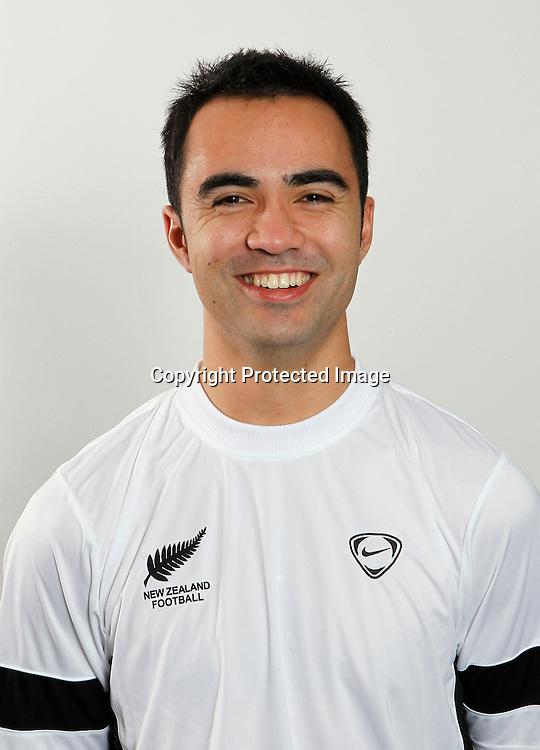 Marvin Eakins. The New Zealand Futsalwhites 2010, Headshots, North Harbour Stadium Auckland, Wednesday 7th July 2010. Photo: Shane Wenzlick/PHOTOSPORT