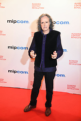 Donovan poses as arriving for the opening ceremony of the MIPCOM in Cannes - Marche international des contenus audiovisuels du 16-19 Octobre 2017, Palais des Festivals, Cannes, France.<br />