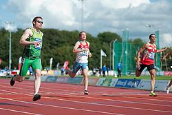 SMYTH Jason, LOGINOV Artem, MUNAR MARTINEZ Joan, 2014 IPC European Athletics Championships, Swansea, Wales, United Kingdom