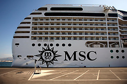 ITALY SICILY PALERMO 29APR08 - MSC Orchestra cruise liner in the port of Palermo, Sicily.. . jre/Photo by Jiri Rezac. . © Jiri Rezac 2008. . Contact: +44 (0) 7050 110 417. Mobile:  +44 (0) 7801 337 683. Office:  +44 (0) 20 8968 9635. . Email:   jiri@jirirezac.com. Web:    www.jirirezac.com. . © All images Jiri Rezac 2007 - All rights reserved.