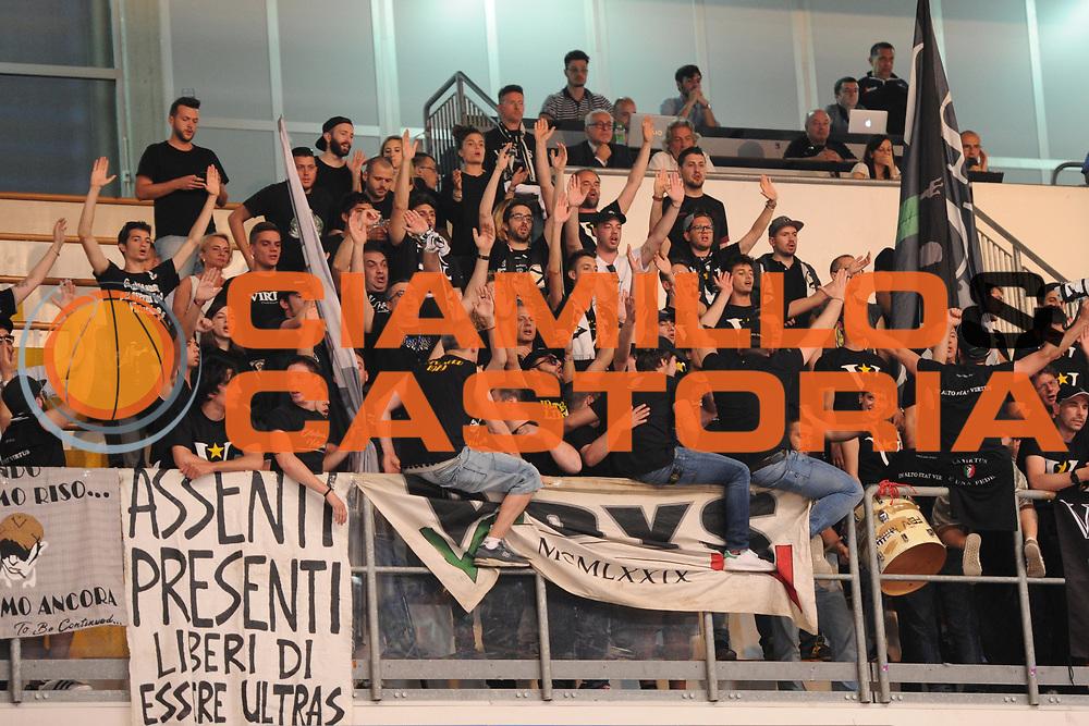 Tifosi Virtus<br /> Roseto Sharks - Segafredo Virtus Bologna<br /> Lega Nazionale Pallacanestro 2016/2017<br /> Roseto, 19/05/2017<br /> Foto Ciamillo-Castoria