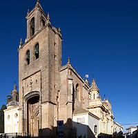 Santiago church, town of Utrera, province of Seville, Spain
