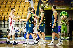 Players during friendly basketball match between Slovenia and Croatia , on September 8, 2018 in Arena Zlatorog, Celje, Slovenia. Photo by Ziga Zupan / Sportida