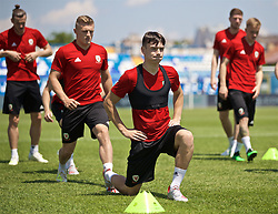 OSIJEK, CROATIA - Friday, June 7, 2019: Wales' Dylan Levitt during a training session at Stadion Gradski vrt ahead of the UEFA Euro 2020 Qualifying Group E match against Croatia. (Pic by David Rawcliffe/Propaganda)
