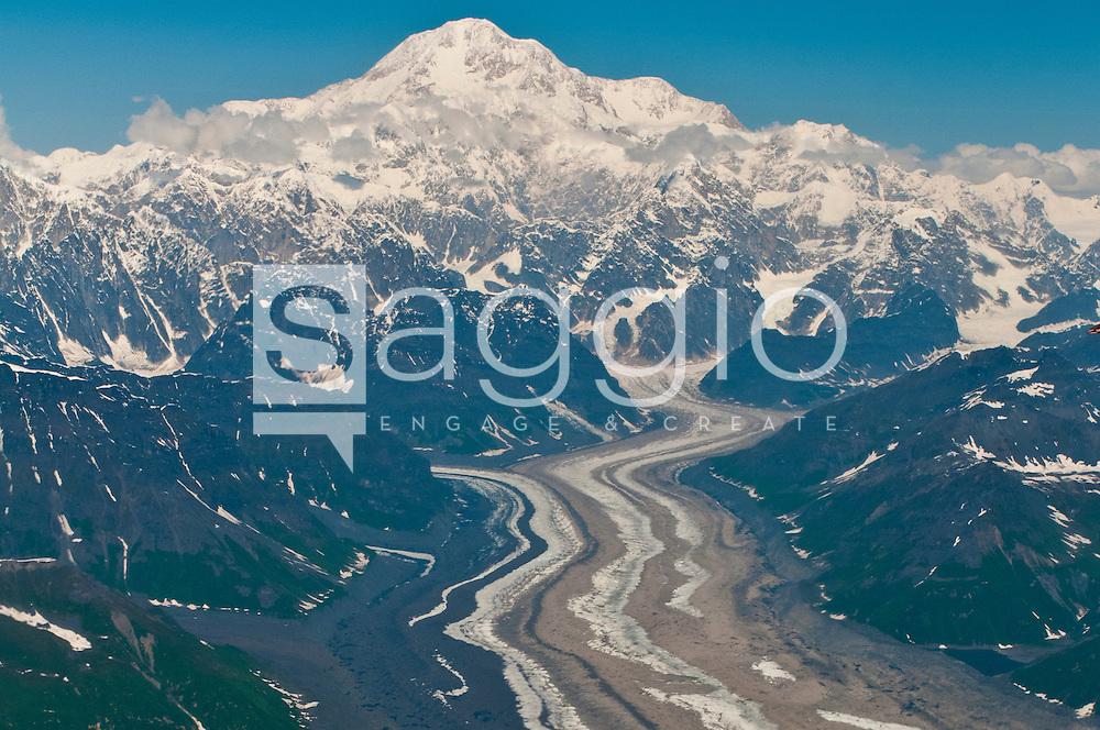 Mt. Denali, also known as Mt. McKinley.