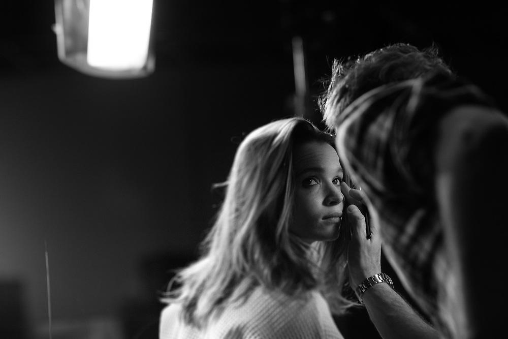 Karoline Herfurth, Backstage Eve by Jil Sander.
