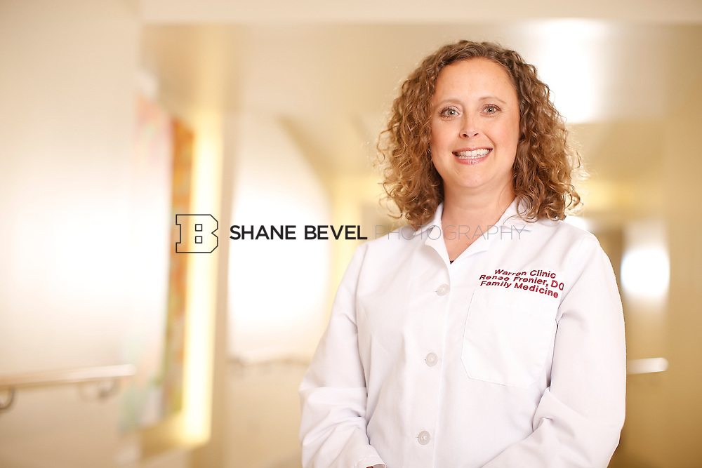 5/28/15 4:14:42 PM -- Dr. Renee Frenier of Saint Francis Health System poses for a portrait for the 2015 Advertising Campaign. <br /> <br /> Photo by Shane Bevel