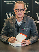 Tom Hanks signs his new Random House book Uncommon Type at Waterstones Piccadilly. London 02 Nov 2017