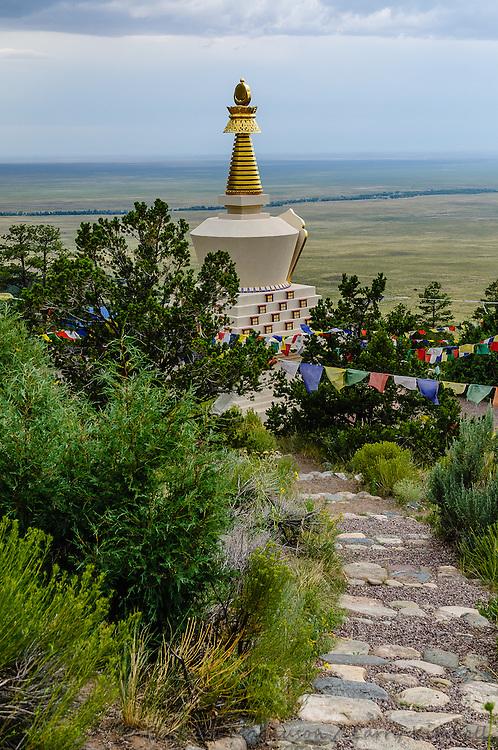Buddhist Stupa; Crestone, CO