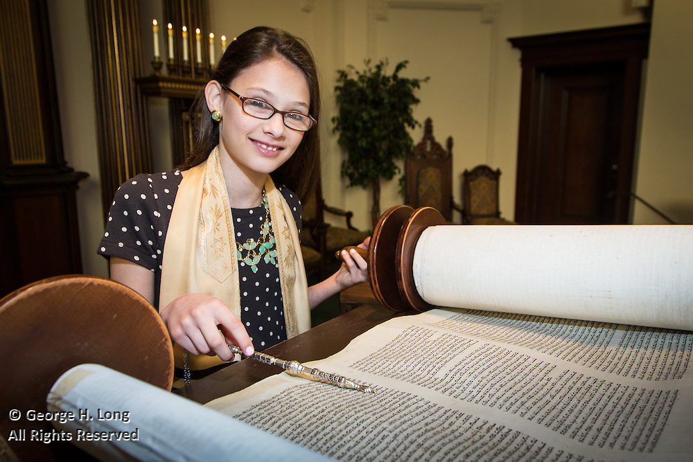 The Bat Mitzvah of Lily Schaefer at Touro Synagogue
