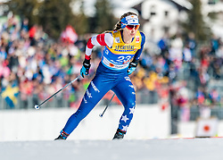 21.02.2019, Langlauf Arena, Seefeld, AUT, FIS Weltmeisterschaften Ski Nordisch, Seefeld 2019, Langlauf, Damen, Sprint, im Bild Jessica Diggins (USA) // Jessica Diggins of the USA during the ladie's Sprint competition of the FIS Nordic Ski World Championships 2019. Langlauf Arena in Seefeld, Austria on 2019/02/21. EXPA Pictures © 2019, PhotoCredit: EXPA/ Stefan Adelsberger