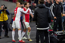13-03-2019 NED: Ajax - PEC Zwolle, Amsterdam<br /> Ajax has booked an oppressive victory over PEC Zwolle without entertaining the public 2-1 / Noa Lang #37 of Ajax, Daley Blind #17 of Ajax