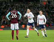 Tottenham Hotspur v West Ham United 04/01/2018