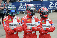 Matheo Tuscher (CHE) / Dominik Kraihamer (AUT) / Alexandre Imperatori (CHE) #13 Rebellion Racing Rebellion R-One AER,  during the Le Mans 24 Hr June 2016 at Circuit de la Sarthe, Le Mans, Pays de la Loire, France. June 13 2016. World Copyright Peter Taylor/PSP.