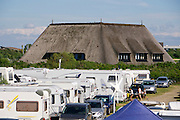 Sylt, Germany. Wenningstedt-Braderup. The camping site.