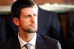 19.11.2010, Marriott County hall, London, ENG, ATP World Tour, Finals, im Bild Djokovic, Novak (SRB). EXPA Pictures © 2010, PhotoCredit: EXPA/ InsideFoto/ Hasan Bratic +++++ ATTENTION - FOR AUSTRIA/AUT, SLOVENIA/SLO, SERBIA/SRB an CROATIA/CRO CLIENT ONLY +++++