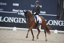 Jilaoui Ismail, MAR, Flower Du Hens<br /> Longines FEI/WBFSH World Breeding Dressage Championships for Young Horses - Ermelo 2017<br /> © Hippo Foto - Dirk Caremans<br /> 03/08/2017