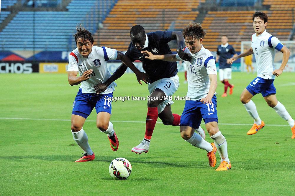 Benjamin MENDY - 11.06.2015 - Football Espoirs - France / Coree du Sud - match amical -Gueugnon<br /> Photo : Jean Paul Thomas / Icon Sport