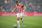 Stoke City striker Jonathan Walters (19) during the Premier League match between Leicester City and Stoke City at the King Power Stadium, Leicester, England on 1 April 2017. Photo by Jon Hobley.