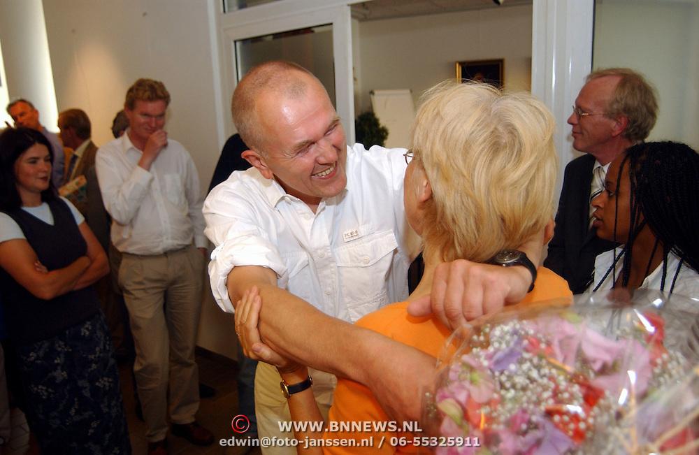 Afscheid wethouder Wim Vrieze gemeente Huizen,