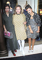 Evangeline Ling, Tanya Ling & Bip Ling, Fendi - Store Launch Party, New Bond Street, London UK, 01 May 2014, Photo by Brett D. Cove