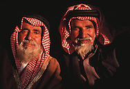 Elders of the Al Amrah clan of the Al Murrah bedouin tribe, Saudi Arabia.