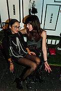 HANNAH BHUIYA; LARA BOHINC; , Browns Club Monaco launch. hosted by Lou Doillon, at the Schools of the Royal Academy of Art. Piccadilly, London. 19 February 2010.  .-DO NOT ARCHIVE-© Copyright Photograph by Dafydd Jones. 248 Clapham Rd. London SW9 0PZ. Tel 0207 820 0771. www.dafjones.com.