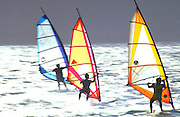 Windsurfing, Hawaii, USA<br />
