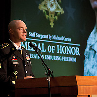Speech by Medal of Honor Recipient Sargeant Ty Carter, Auburn, WA.