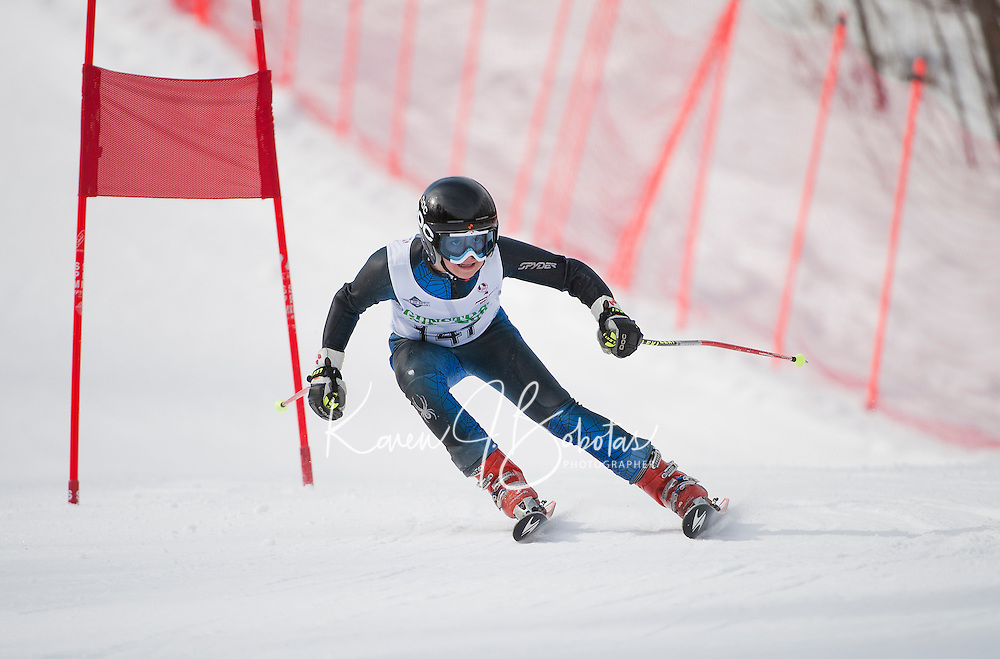 BWL at Gunstock J4 giant slalom  March 3, 2012.