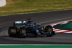 February 28, 2019 - Barcelona, Catalonia, Spain - Valtteri Bottas fo Finland with 77 of Mercedes AMG Petronas Motorsport W10 in action   during the Formula 1 2019 Pre-Season Tests at Circuit de Barcelona - Catalunya in Montmelo, Spain on February 28. (Credit Image: © Xavier Bonilla/NurPhoto via ZUMA Press)