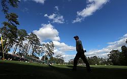 April 6, 2017 - Augusta, GA, USA - Charley Hoffman walks to the 14th tee after saving par on the 13th hole during first-round action of the Masters Tournament at Augusta National Golf Club on Thursday, April 6, 2017, in Augusta, Ga. Hoffman finished the round at -7. (Credit Image: © Curtis Compton/TNS via ZUMA Wire)