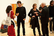 DAN PERFECT; FIONA RAE; MICHAEL CRAIG-MARTIN, Barry flanagan, Early works 1965-1982. Tate Britain. 26 September 2011. <br /> <br />  , -DO NOT ARCHIVE-© Copyright Photograph by Dafydd Jones. 248 Clapham Rd. London SW9 0PZ. Tel 0207 820 0771. www.dafjones.com.