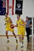 20150817 FIBA Oceania Under 16s Championship Tournament - New Caledonia v Australia