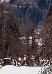 18.12.2016, Nordische Arena, Ramsau, AUT, FIS Weltcup Nordische Kombination, Langlauf, im Bild Eric Frenzel (GER) // Eric Frenzel of Germany during Cross Country Competition of FIS Nordic Combined World Cup, at the Nordic Arena in Ramsau, Austria on 2016/12/18. EXPA Pictures © 2016, PhotoCredit: EXPA/ JFK