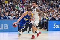 Real Madrid Jeffery Taylor and Khimki Moscow Alexey Shved during Turkish Airlines Euroleague match between Real Madrid and Khimki Moscow at Wizink Center in Madrid, Spain. November 02, 2017. (ALTERPHOTOS/Borja B.Hojas)