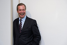 MAR 23 2013 Portraits of Nigel Farage UKIP Conference