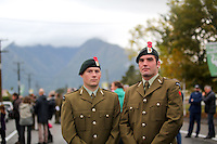 anzac day photos 2015 100 years west coast south island whataroa dawn parade