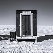 Outhouse, South Pole