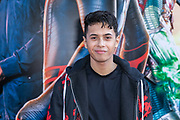 2019, July 02. Pathe ArenA, Amsterdam, the Netherlands. Vinchenzo at the dutch premiere of Spider-Man Far From Home.
