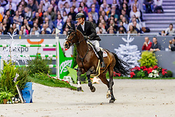 GUERY Jérome (BEL), Quel Homme de Hus<br /> Genf - CHI Geneve Rolex Grand Slam 2019<br /> Rolex Grand Prix - Stechen<br /> Internationale Springprüfung mit Stechen<br /> International Jumping Competition 1m60<br /> Grand Prix Against the Clock with Jump-Off<br /> 15. Dezember 2019<br /> © www.sportfotos-lafrentz.de/Stefan Lafrentz