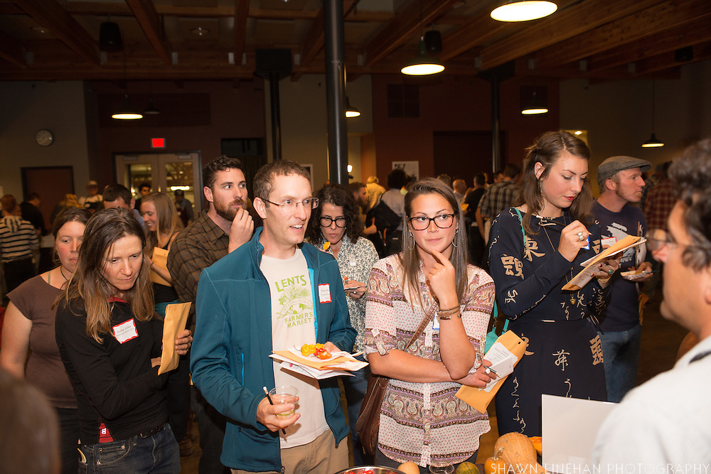 Photos from the Culinary Breeding Network's Variety Showcase in Portland Oregon at Chris King Bicycles.